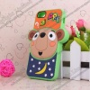 3D Lovely Cartoon Animal Silicone Case For iPhone 5