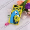 Cute 3D Cartoon Design Silicone Jelly Case For iPhone 5
