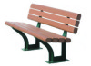 1200mm 1500mm Outdoor Wpc Bench with different colors available