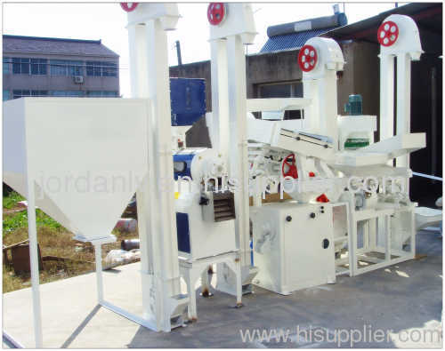 Complete rice mill equipment
