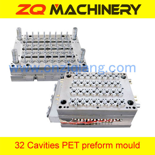 plastic preform injection mould