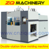 extrusion blow plastic machine