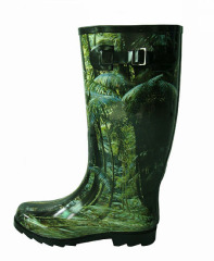 Ladies Rubber Rain Boots