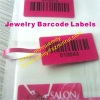 Custom barcd Jewelry Labels,Spacing adhesive Jewelry Labels with sequence numbers