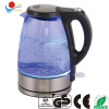 electric clear glass kettle