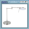 metal nickel plating high power foldable LED table light