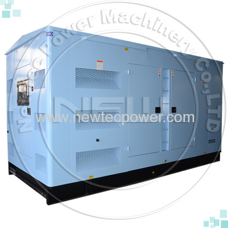 Soundproof type Cummins diesel generator set 600kw 750kva diesel genset