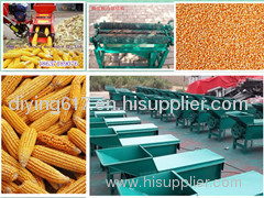 high quality corn grain peeling and grinding machine