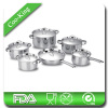 12Pcs Steel Lid Stainless Steel Kitchenware