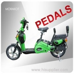 Canada 350W 48V 32km/h electric scooter with double seat---LS5-3