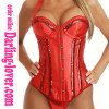 Red New Sexy Lingerie Corset