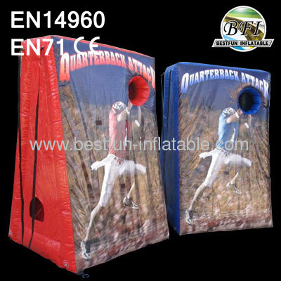 Quarterback Attack Inflatable Shooting Game