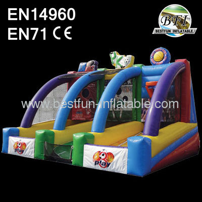 New 3 In 1 Inflatable Play