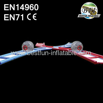 C4 100' Inflatable Criss Cross Collision Course