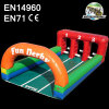 3 Lane Inflatable Derby Game