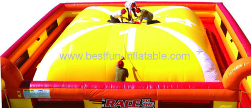 Inflatable Bouncy Mountain Race To The Top