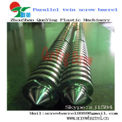 parallel double screw barrel