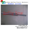 Cold feed rubber extruder screw barrel