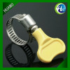 Plastic Butterfly Handle Hose Fastener