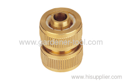 "1/2"" Brass Water Hose mender"