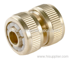 "3/4"" Brass Water Hose Pipe Mender"