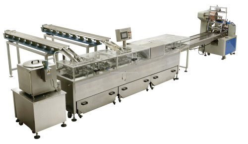 Biscuit Sandwiching Packaging Machinery