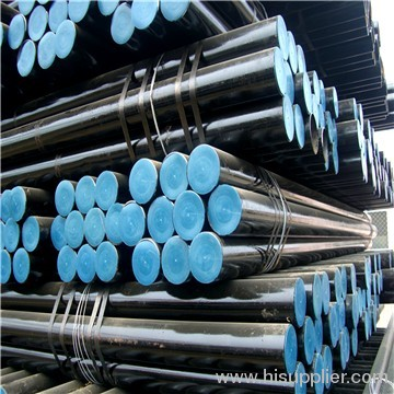 BLACK AND ROUND STEEL TUBE