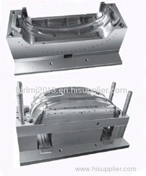 automobile BUMPER injection MOULD