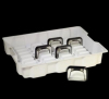 Thermoforming plastic packgaging, anti-static plastic tray