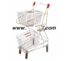 Shopping Basket Holder / Shopping Basket Dolly / Shopping Basket Cart /trolley hinged