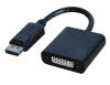 DisplayPort Adapter DP Male to DVI Female 20CM