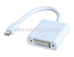 DisplayPort Adapter MINI DP Male to DVI Female 17CM
