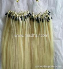 Natural straight Micro ring hair extension