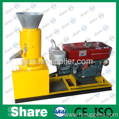 diesel powered pellet mill
