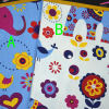 100% cotton animals printed cotton drill fabric