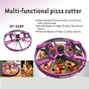 2013 Multi-functional pizza cutter