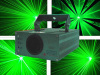 2013 mini green stage laser light