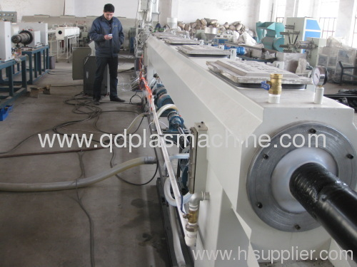 pe pipe production line plastic extruders