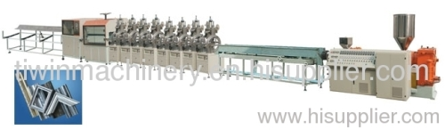 Plastic Foaming Picture frame Profile Production Line