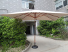 3X4m big aluminum garden umbrella