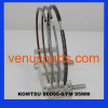 4d95l engine piston ring 6207-31-2200