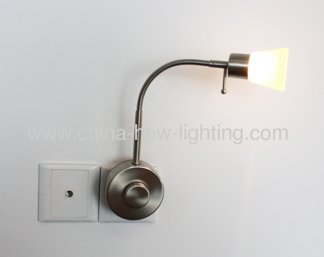 plug in wall lamp led in reading lamp dimmable with button from 10775