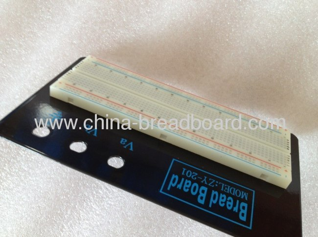 ZY-201 - -830 points solderless breadboard