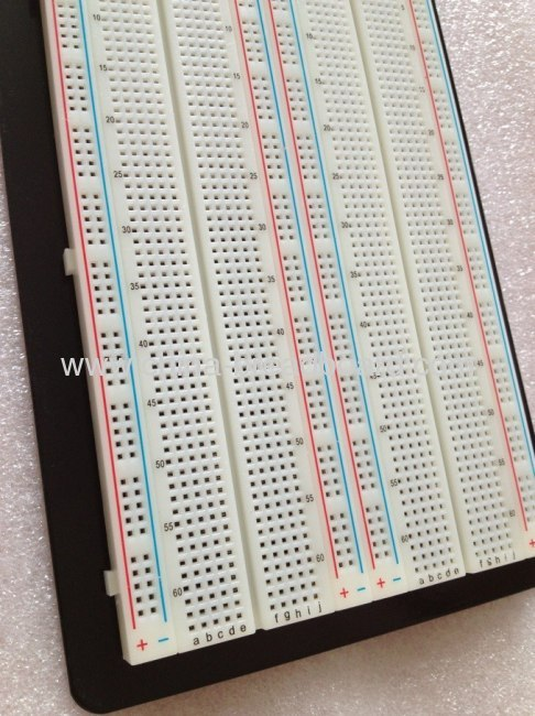ZY-204 - - 1660 points solderless breadboard