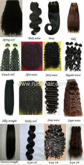 Russian remy Kratin hair extension