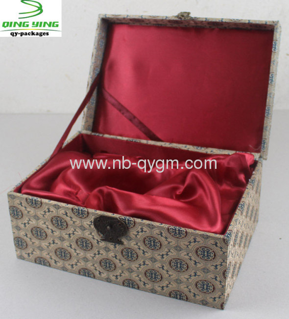 Antique Clamshell Paper Gift Boxes