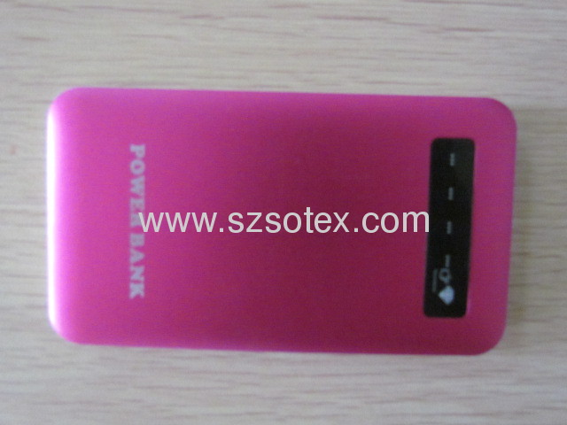 4000mAh portable power bank for mobile phone and devices