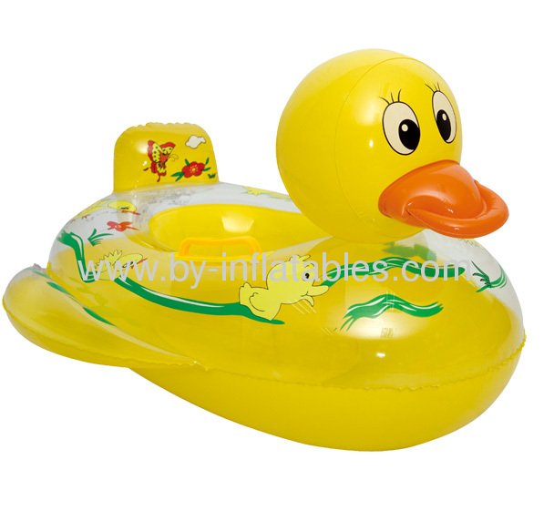 single inflatable duck boat for baby