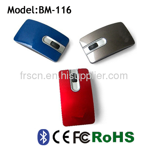 BM-116 mini flat wireless bluetooth 3.0 optical mouse