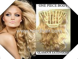 100%clip in hair extensionINDIAN VIRGIN REMY GOOD QUALITY